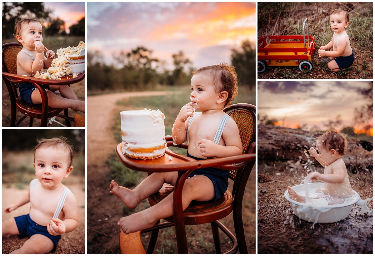 Cake Smash Photographer San Antonio Photography